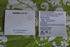 BodyWand Original Massager,  - BDSMGeek Shop - 4