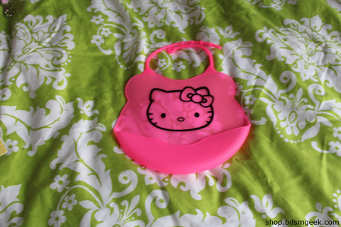 Silicone Kitty Bib