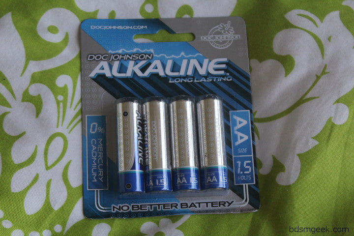 Alkaline AA Batteries 4 Pack,  - BDSMGeek Shop - 1