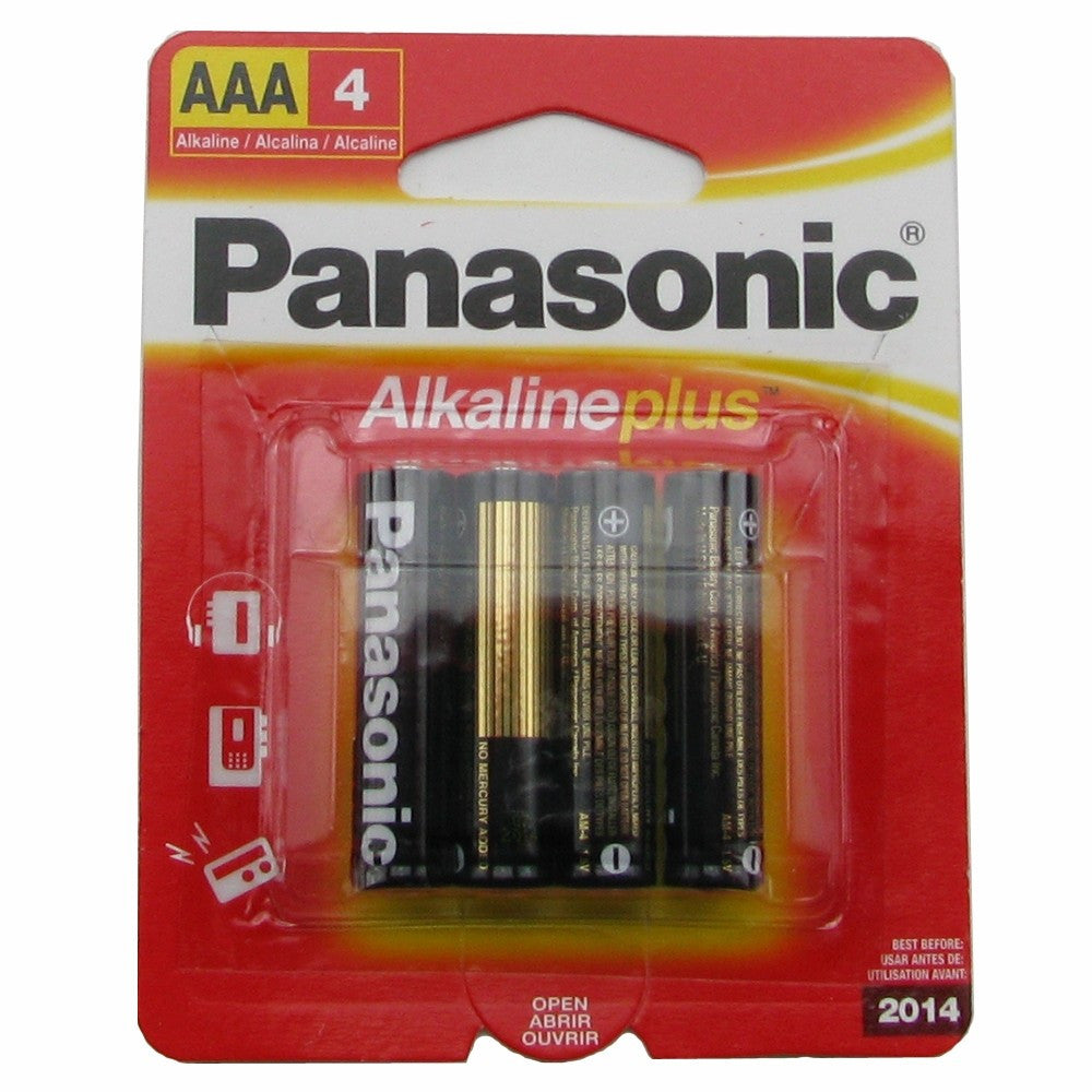 Alkaline AAA Batteries 4 Pack,  - BDSMGeek Shop