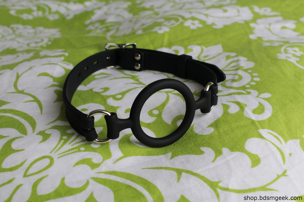 All Silicone O-Ring Gag, Default Title - BDSMGeek Shop - 4