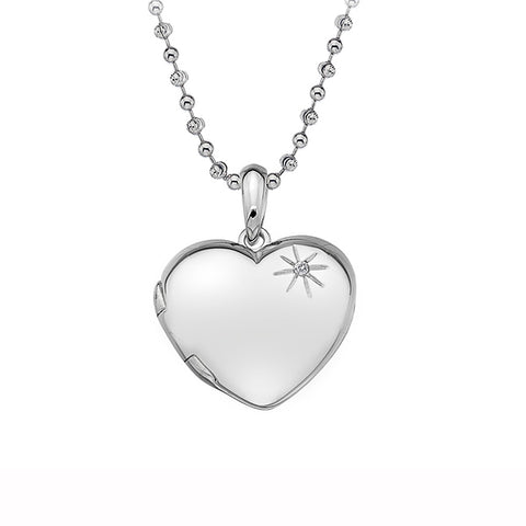 Hot Diamonds Memories Heart Locket Pendant DP495