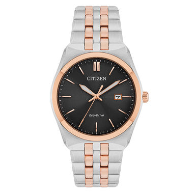 Citizen Rose Gold Two Tone Eco Drive Gents Watch BM7336-52H 1003342