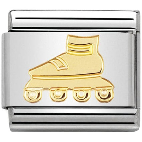 Nomination 18ct Gold Rollerblade Charm 030106 06
