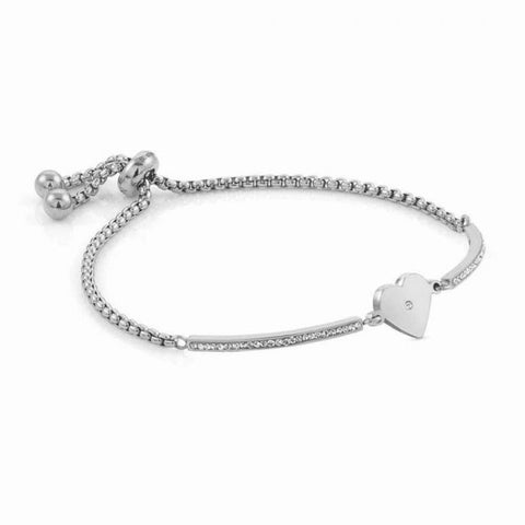 Nomination - Milleluci Heart Toggle Pave Half Bangle Bracelet 028003 22