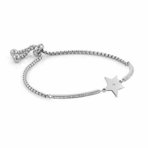 Nomination - Milleluci Star Toggle Pave Half Bangle Bracelet 028003 23
