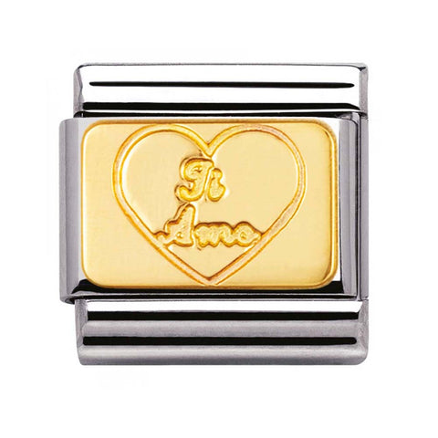 Nomination 18ct Gold & Enamel White Angel Charm 030225 16