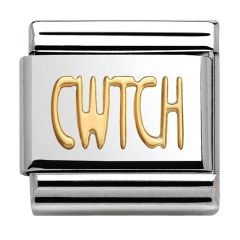 Nomination 18ct Gold Cwtch Charm 030107 19
