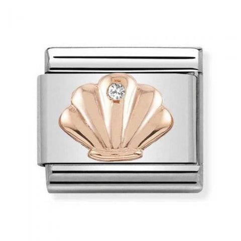 Nomination 9ct Rose Gold Shell Charm 430305 26