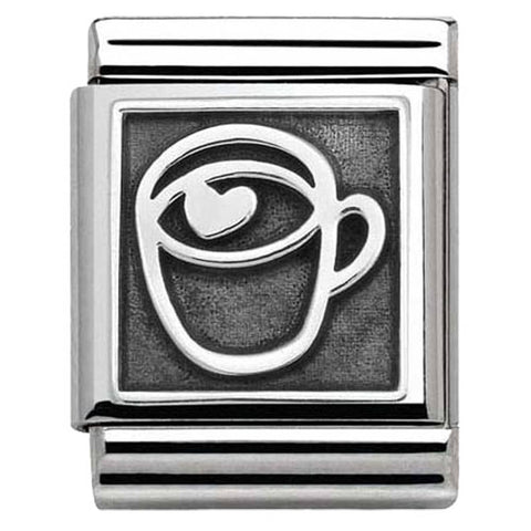 Nomination BIG Silver Hot Chocolate Charm 332111 10