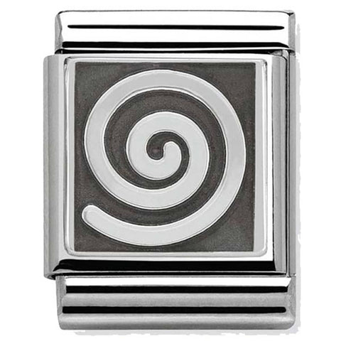 Nomination BIG Abstract Swirl Charm 332110 05