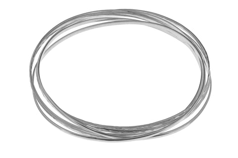 Tianguis Jackson Sterling Silver 6 Strand Torque Bangle BT2157 0401232