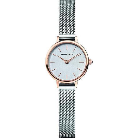 Bering Ladies Classic Two Tone Watch 11022-064