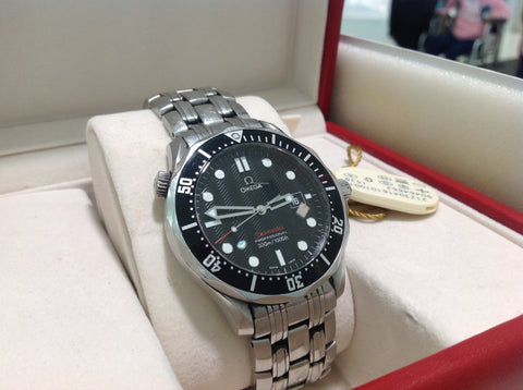 Omega Seamaster Diver 300M Quartz Pre-Owned Watch