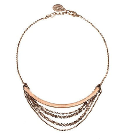 Edblad - Draper Rose Gold Plated Stainless Steel Necklace