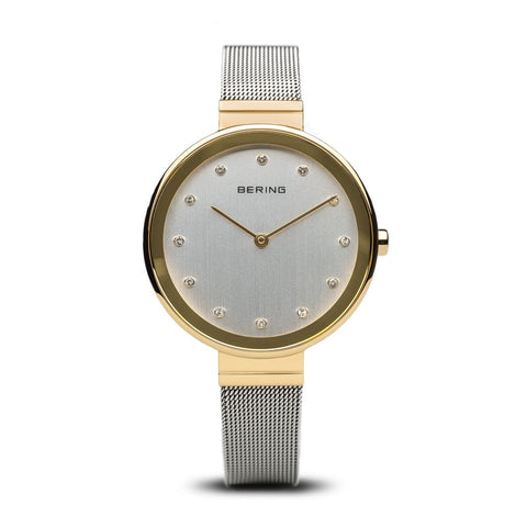Bering Ladies Classic Polished Gold Watch 12034-010