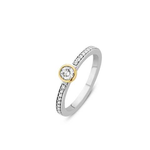 Nomination 18ct Gold with CZ Stones Cancer Charm 030302 04
