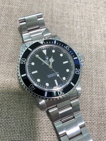 Rolex Submariner (No Date) Pre-Owned Watch