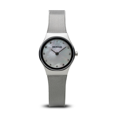 Bering Ladies Classic Polished Silver Watch 12924-000