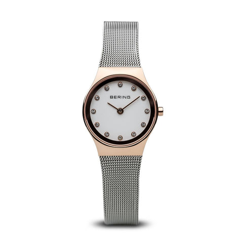 Bering Ladies Classic Polished Rose Gold Watch 11927-064