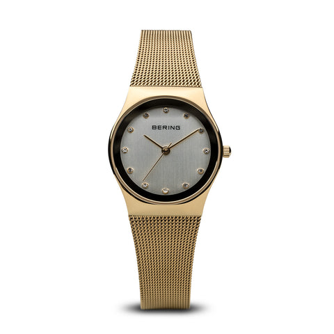 Bering Ladies Classic Polished Gold Watch 12927-334
