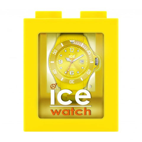 Unisex Ice Watch Sili Yellow SI.YW.U.S.09 1050228