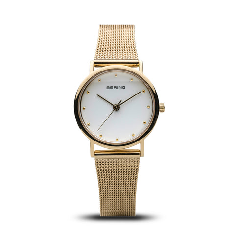 Bering Ladies Classic Polished Silver Watch 13426-334