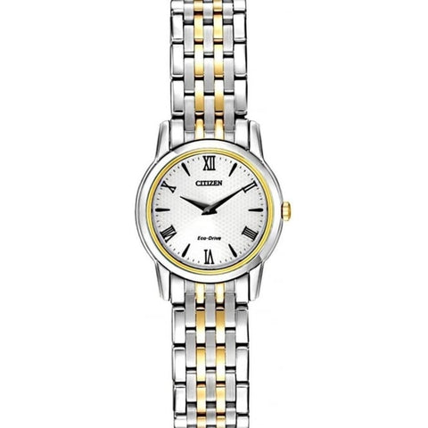 Citizen Eco Drive Ladies Two Tone Watch EG3048-58A 1003145