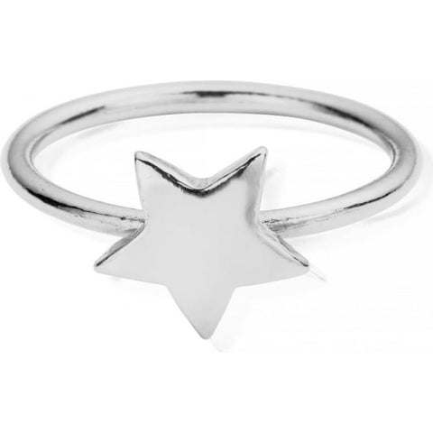ChloBo - Star Sterling Silver Ring SRSTAR X