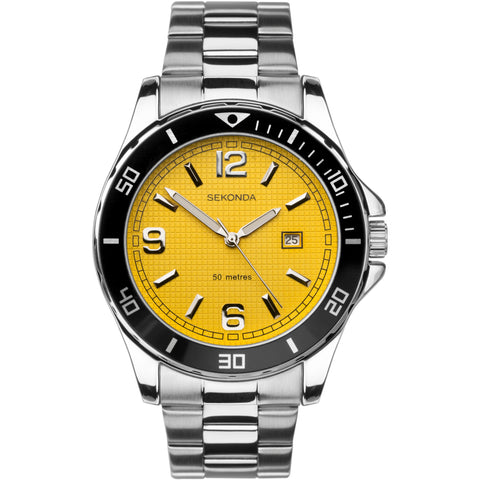 Sekonda Mens Stainless Steel Bracelet Watch 1511 1006344