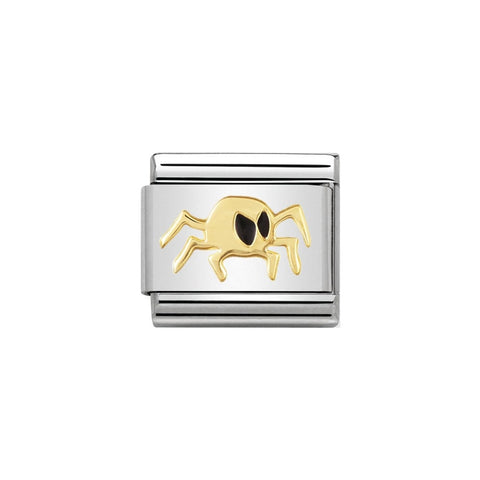 Nomination 18ct Gold & Enamel Spider Charm 030216 02