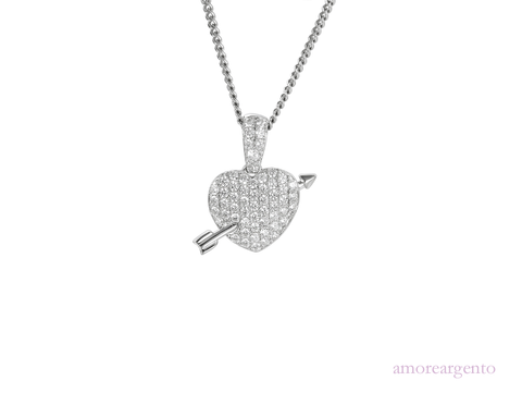 Amore Hearts & Arrows Necklace