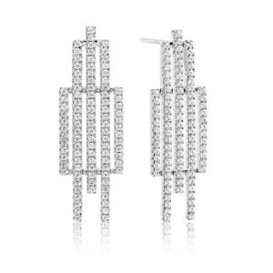 Sif Jakobs - Rufino Cinque Sterling Silver with White CZ Earrings SJ-E0203-CZ 4003468