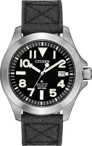 Citizen Super Titanium Eco Drive Mens Watch BN0118-04E 1003346