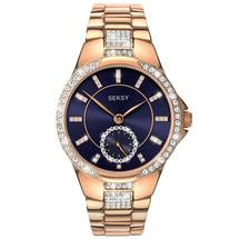 Sekonda Seksy Eternal Ladies Rose Gold Plated Bracelet Watch 2183 1006218