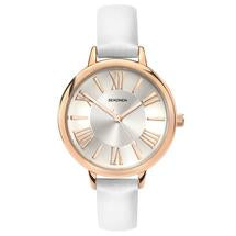 Sekonda Editions Ladies White Leather Watch 2327 1006263