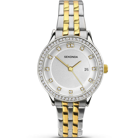 Rotary London Stainless Steel Bracelet Ladies Watch LB00765/04