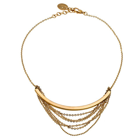 Edblad - Draper Gold Plated Stainless Steel Necklace