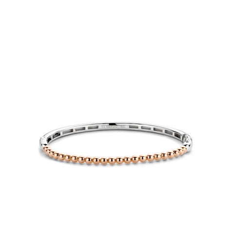 Nomination 9k Rose Gold with CZ Letter F Charm 430310 06