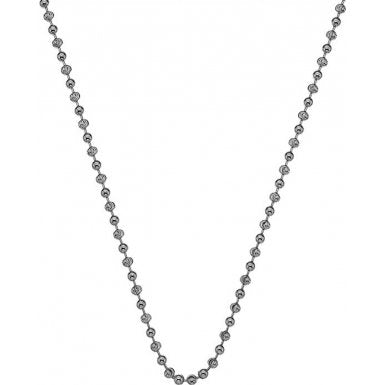 "Hot Diamonds Emozioni 24"" Sterling Silver Bead Chain CH055 2104052"