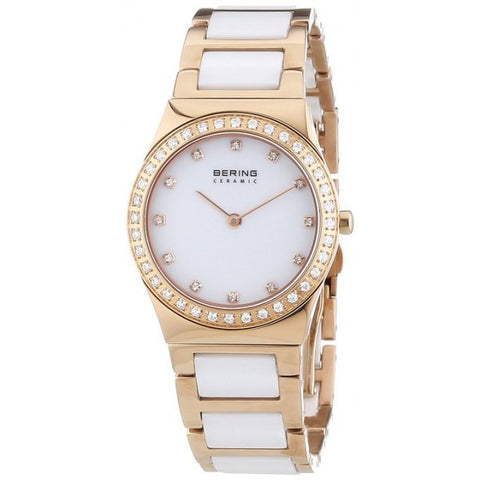 Bering Ladies Two-Tone Ceramic Watch 32430-761