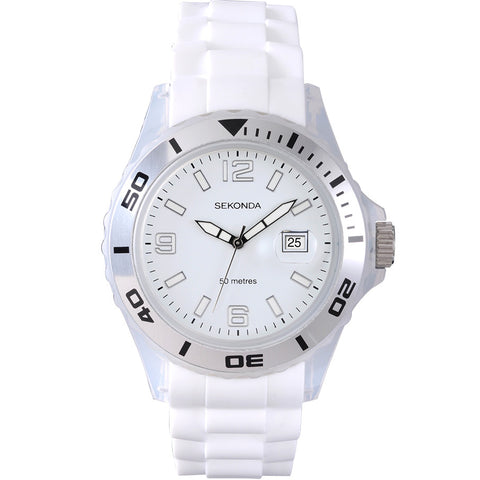 Sekonda Gents Party Time White Watch 3362 1006063
