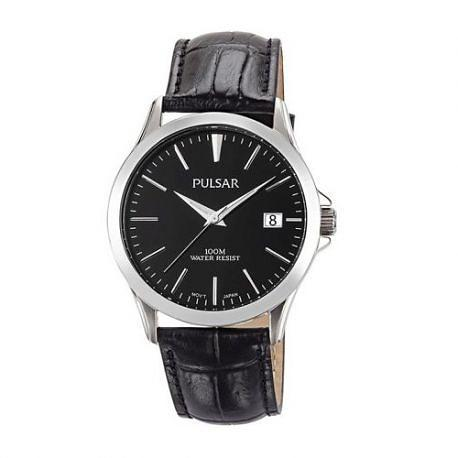 Pulsar Classic Gents Watch with Black Leather Strap PS9457 1005152