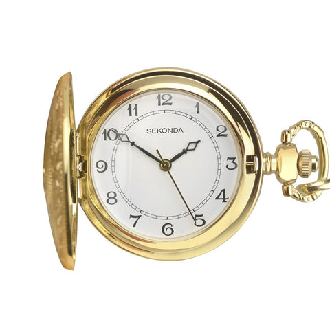 Sekonda Gents Gold Pocket Watch 3799 1006305
