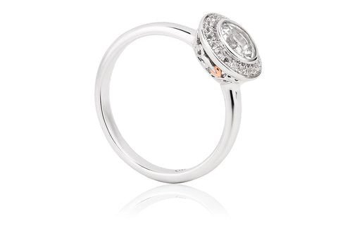 Clogau - Tree of Life Ar Dan Cocktail Ring 3SAWDR 2406273