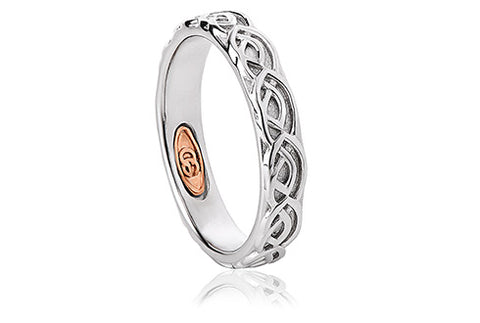 Clogau - 4mm Annwyl Wedding Band Ring 3SCWED4