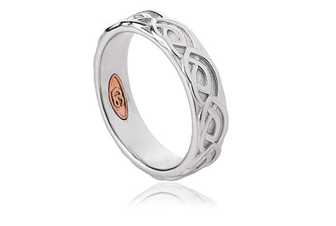 Clogau - 5mm Annwyl Wedding Band Ring 3SCWED5