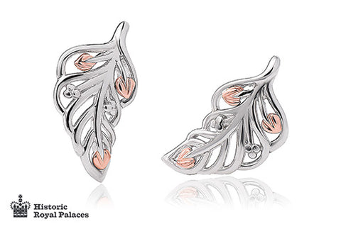 Clogau - Debutante Feather Stud Earrings 3SDBFE