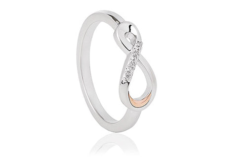 Clogau - Eternity Diamond Ring 3SETDR4