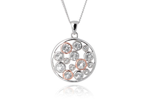 Clogau - Celebration Circle Pendant Necklace 3SMP4